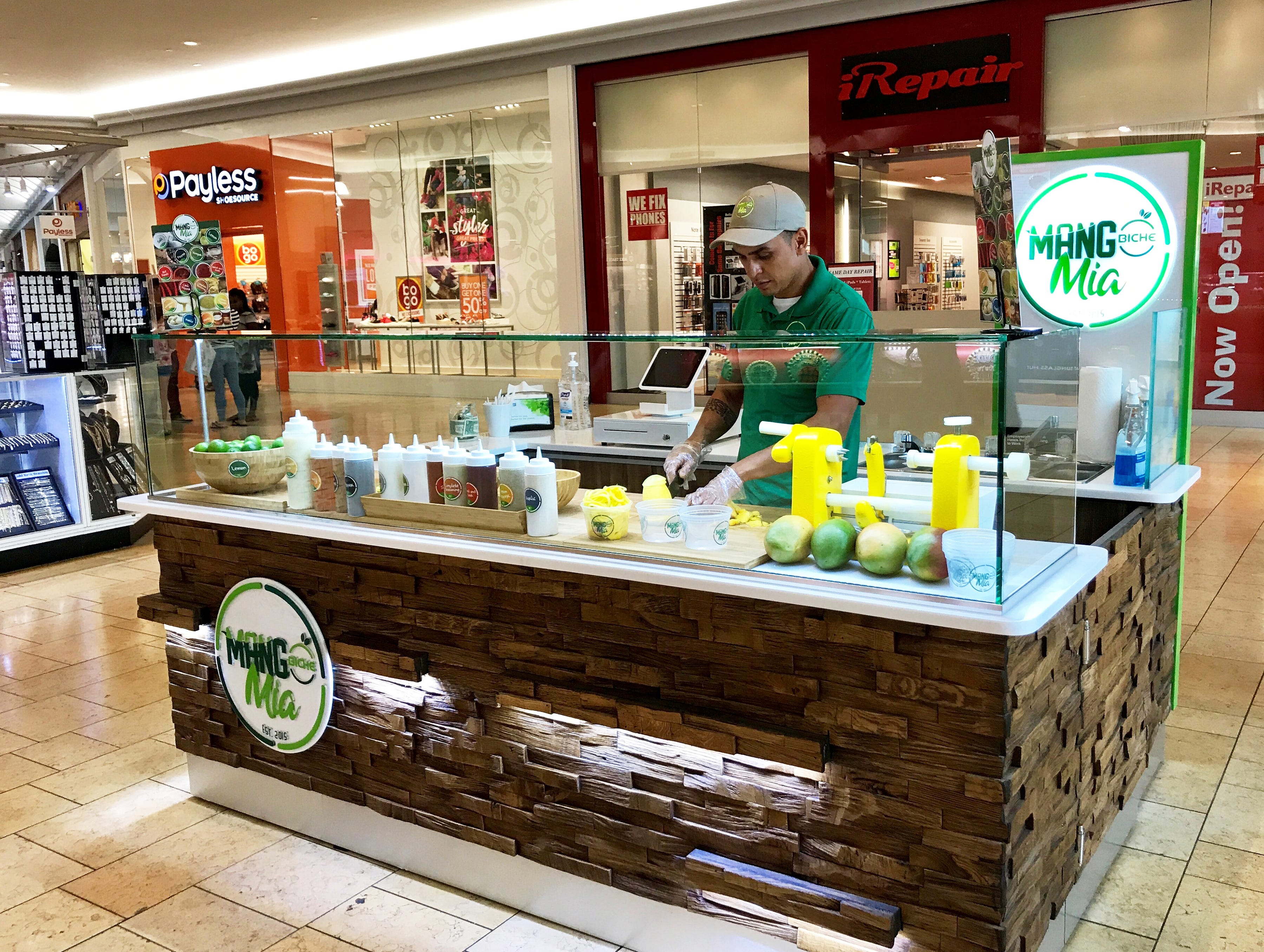 Mango Biche Mia opened in April 2018 at the concourse entrance to the food court at Coastland Center mall in Naples.