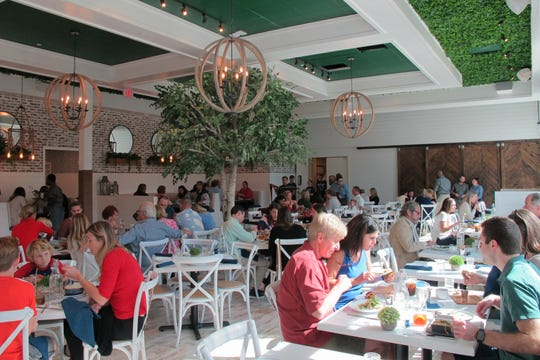 The Hampton Social opened Dec. 26, 2018, in the former space of McCormick & Schmick's at Mercato in North Naples.
