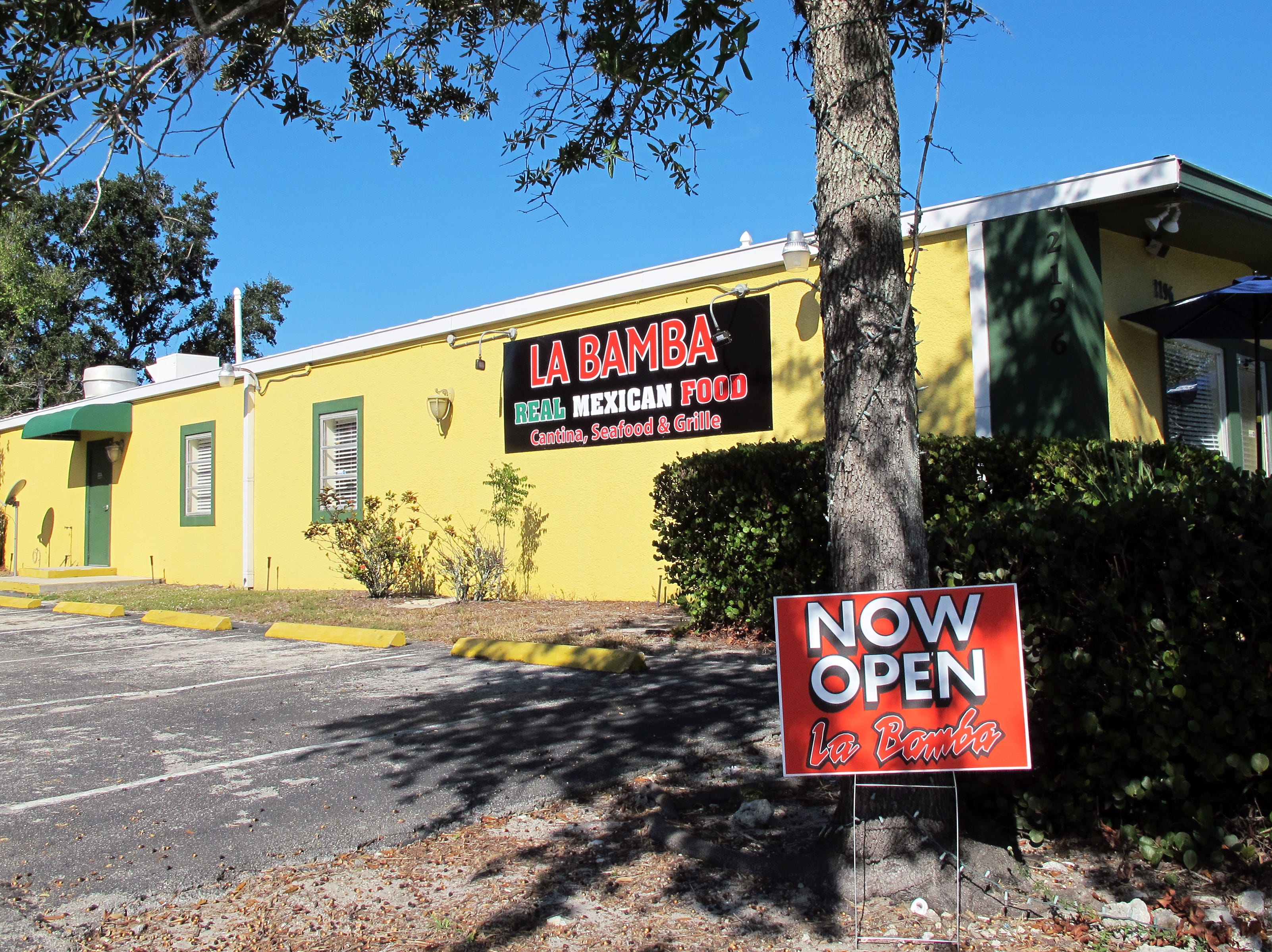 La Bamba Mexican restaurant returned to East Naples in November 2018 at 2196 Airport-Pulling Road S.