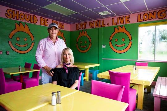 Naples residents Doug Miller and Amy Eldridge opened FK Your Diet restaurant in Fort Myers in October 2018.