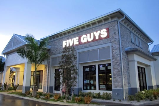 Residential housing has been approved for Vanderbilt Commons, which already has businesses such as Five Guys Burgers & Fries. The eatery, opened in October 2018, is celebrating its one year anniversary.