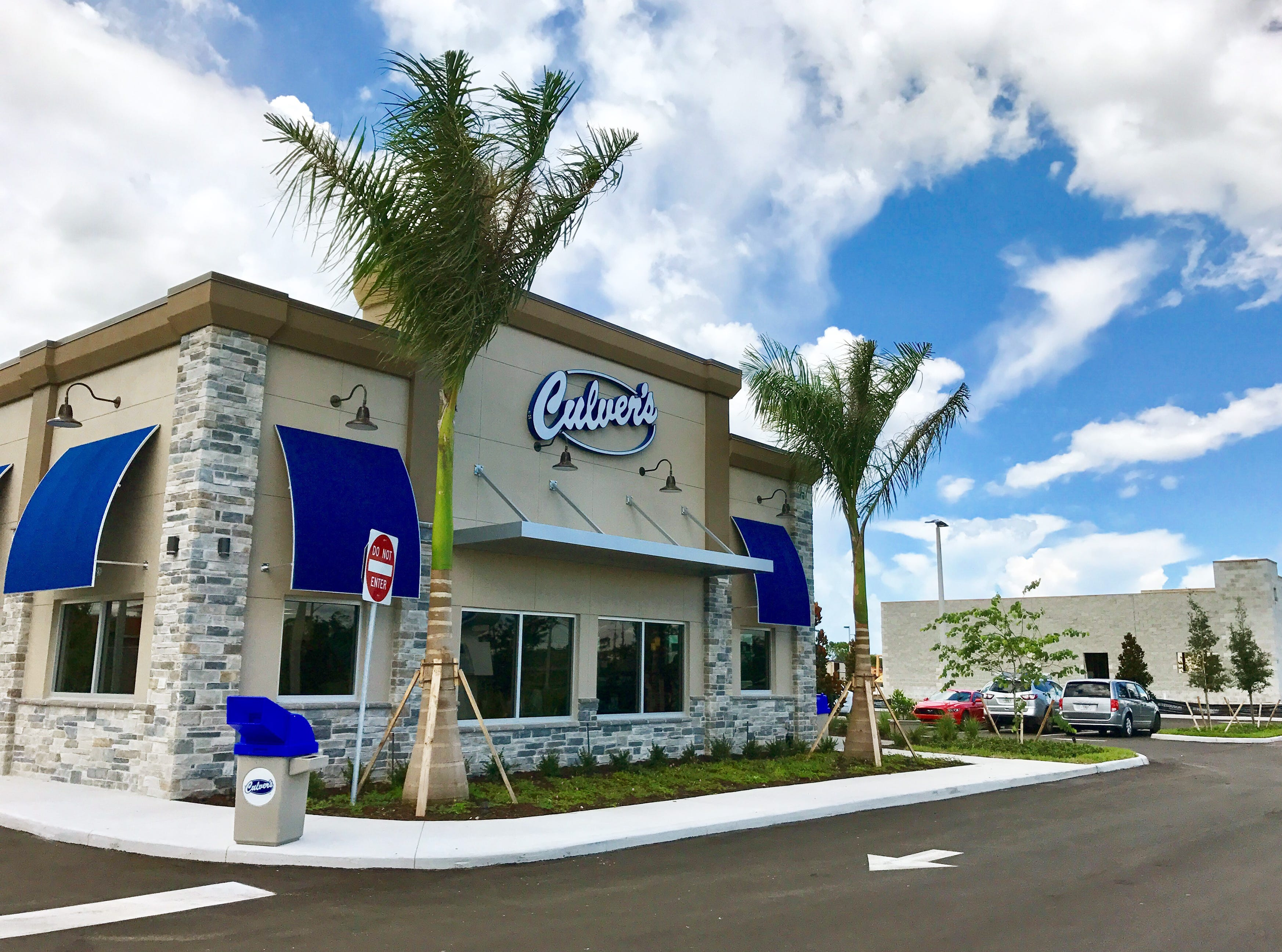 Culver's launched its third location in Collier County on Aug. 7, 2018, in the second phase of Cameron Commons on Immokalee Road east of Collier Bouelvard.
