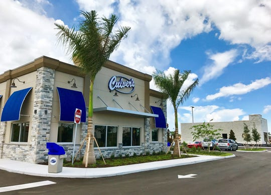 Culver's launched its third location in Collier County in August in the second phase of Cameron Commons, on Immokalee Road.