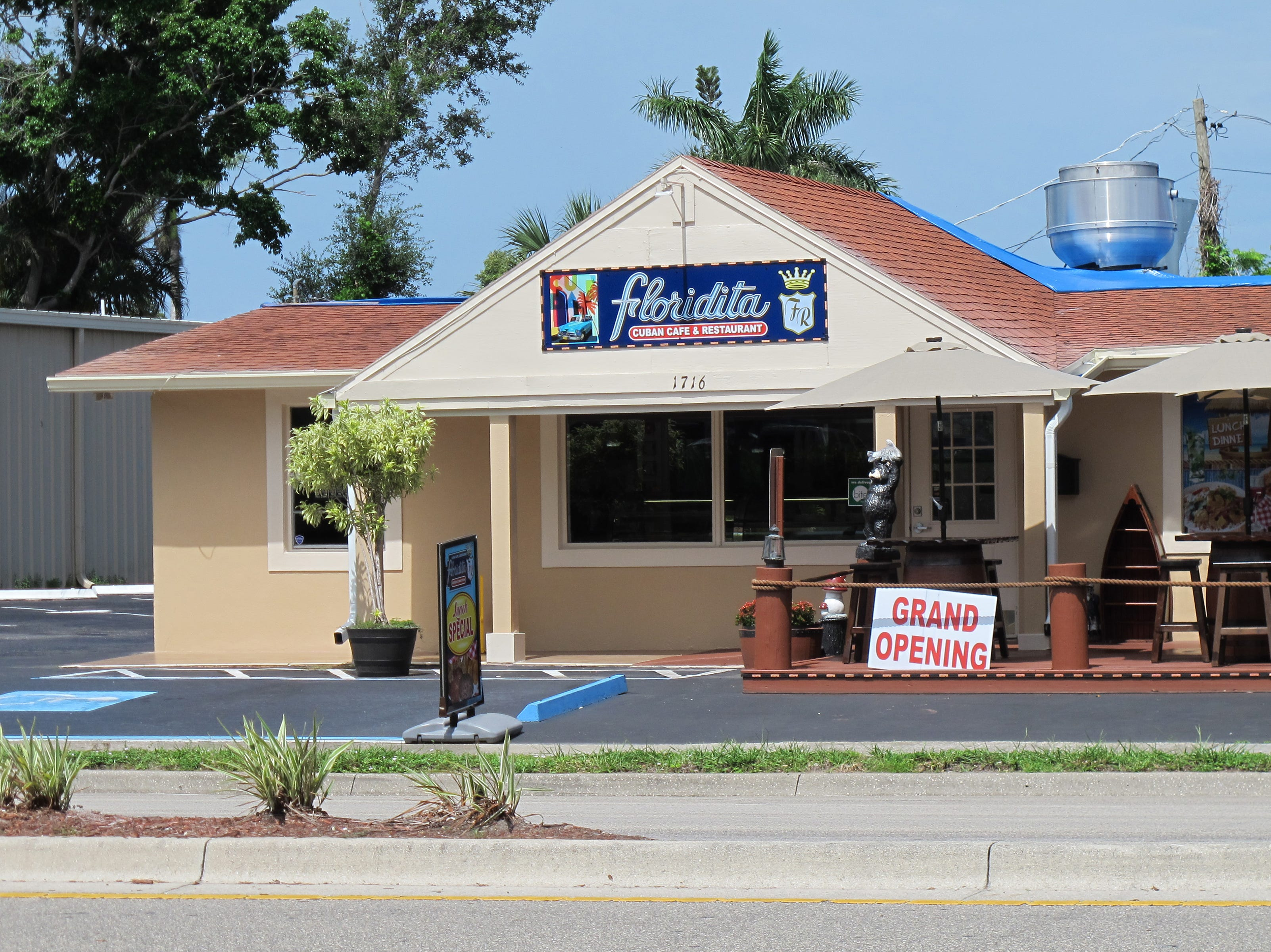 Floridita Cuban Cafe & Restaurant opened in April 2018 on Airport-Pulling Road just south of Davis Boulevard in East Naples.