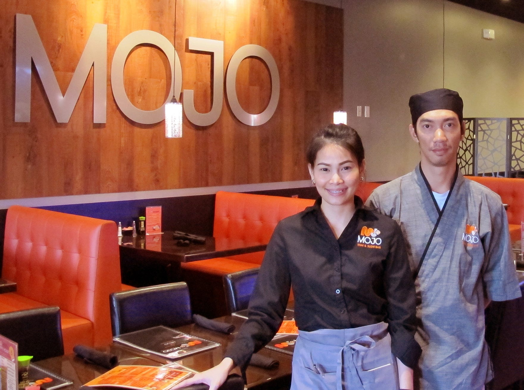 Tangmo Maneerat and Joe Sunthi opened Mojo Thai & Sushi in January 2018 in the Galleria Shoppes at Vanderbilt in North Naples.