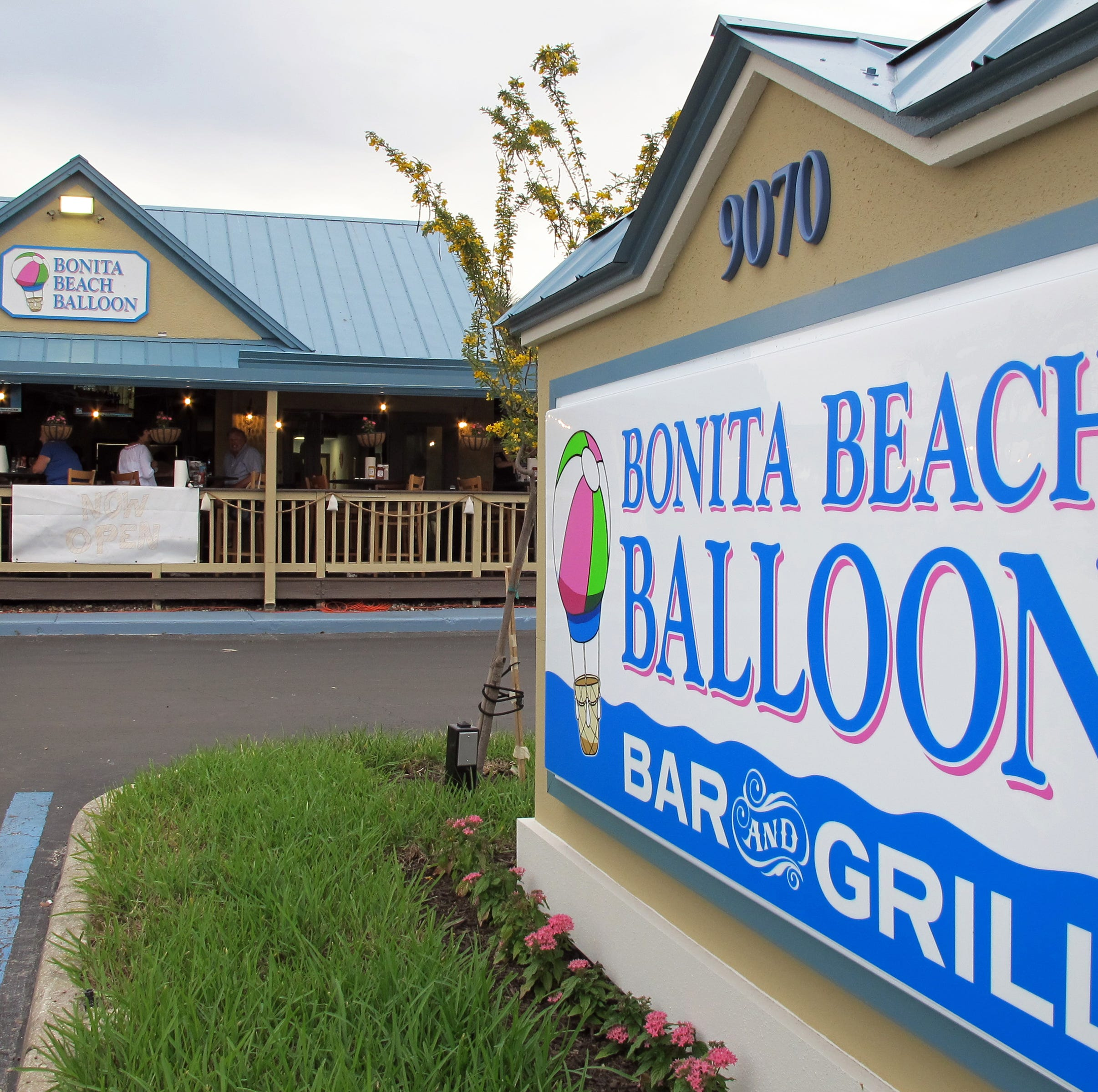 Kitchen fire closes Bonita Beach Balloon Bar & Grill Sunday
