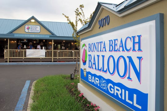 Bonita Beach Balloon Bar & Grill opened in November 2018 on Bonita Beach Road in Bonita Springs.
