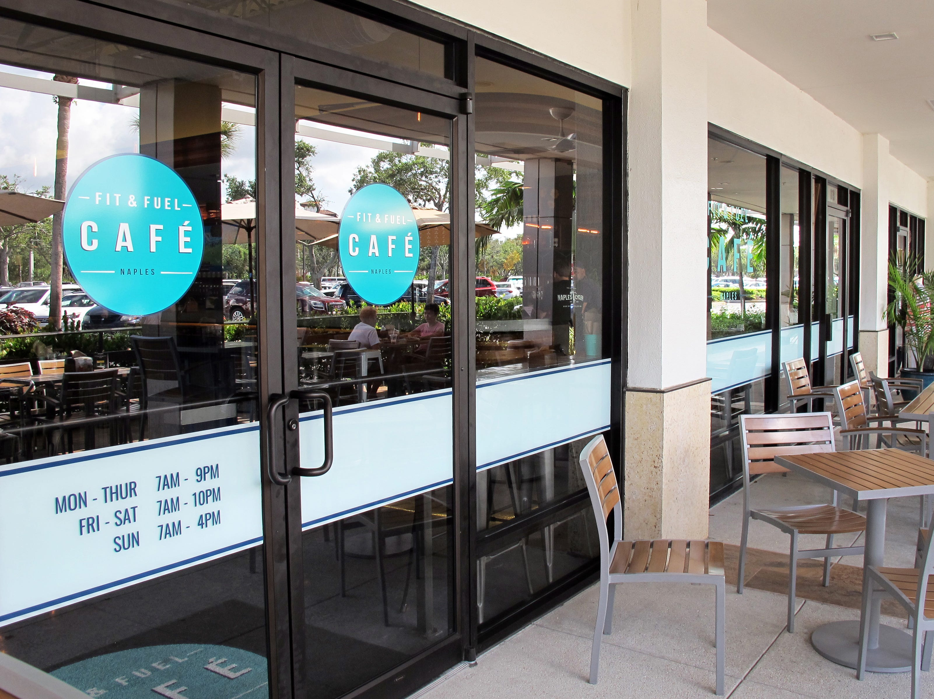 Fit & Fuel Cafe reopened in June 2018 in a newly expanded space at The Pavilion shopping center in North Naples.