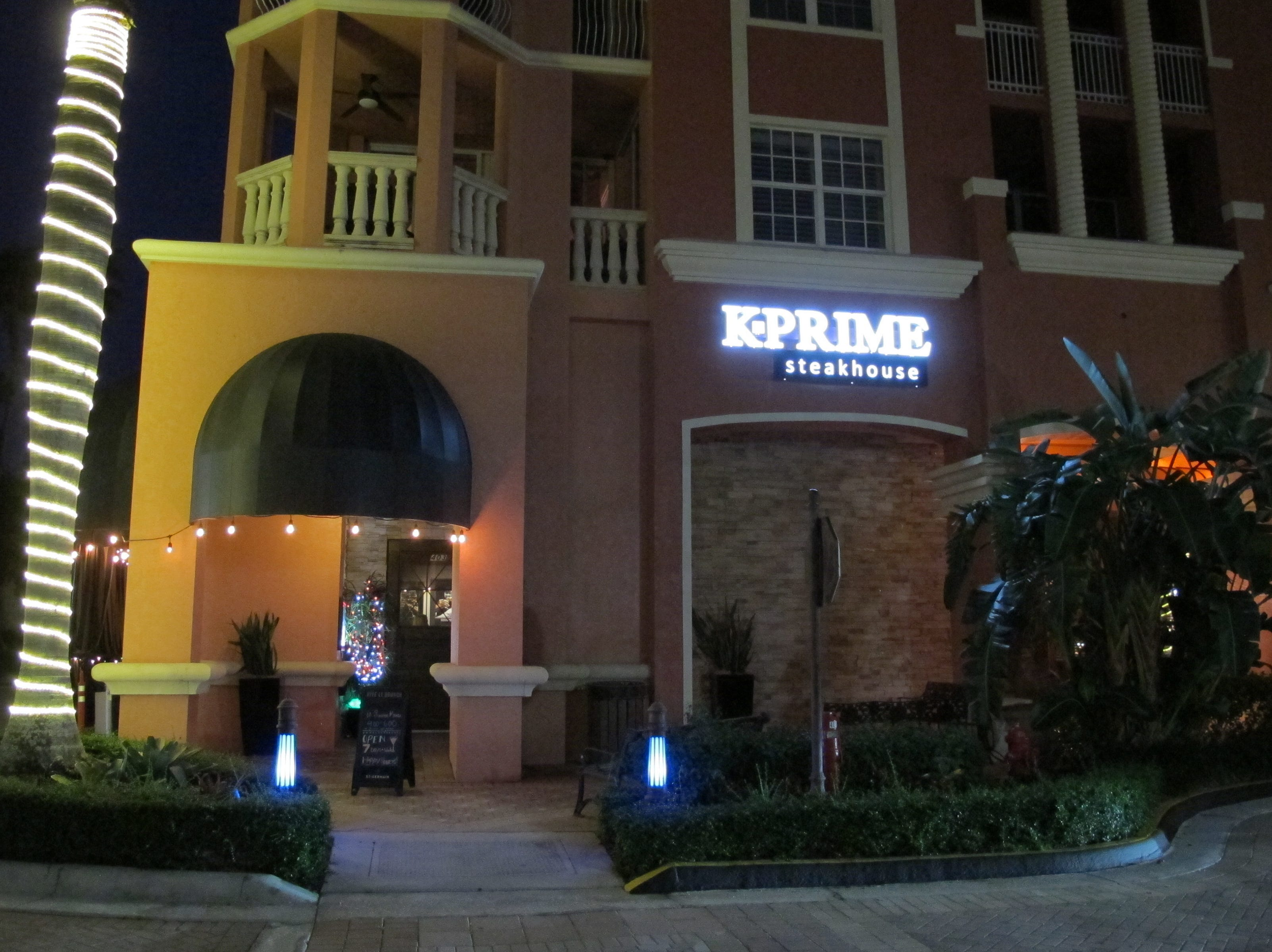 St. Germain Steakhouse in Bayfront became K-Prime Steakhouse in October 2018 after Kevin Stoneburner rekindled the ownership of a Naples business he originally operated for years as Stoney's Steakhouse.