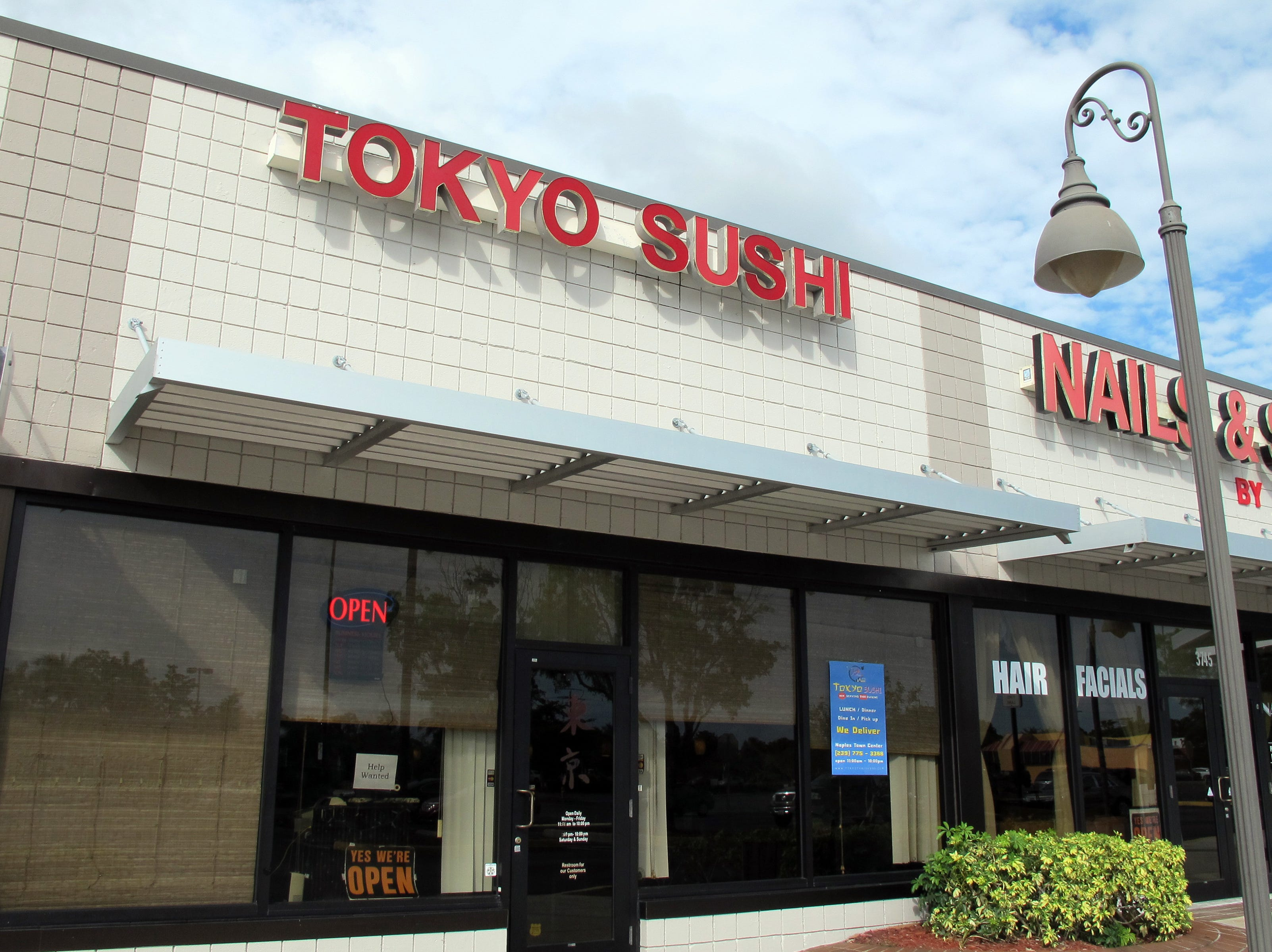 As of mid-July 2018, Tokyo Thai Sushi is the new name for this restaurant under new ownership in Naples Towne Centre on U.S. 41 East in East Naples.