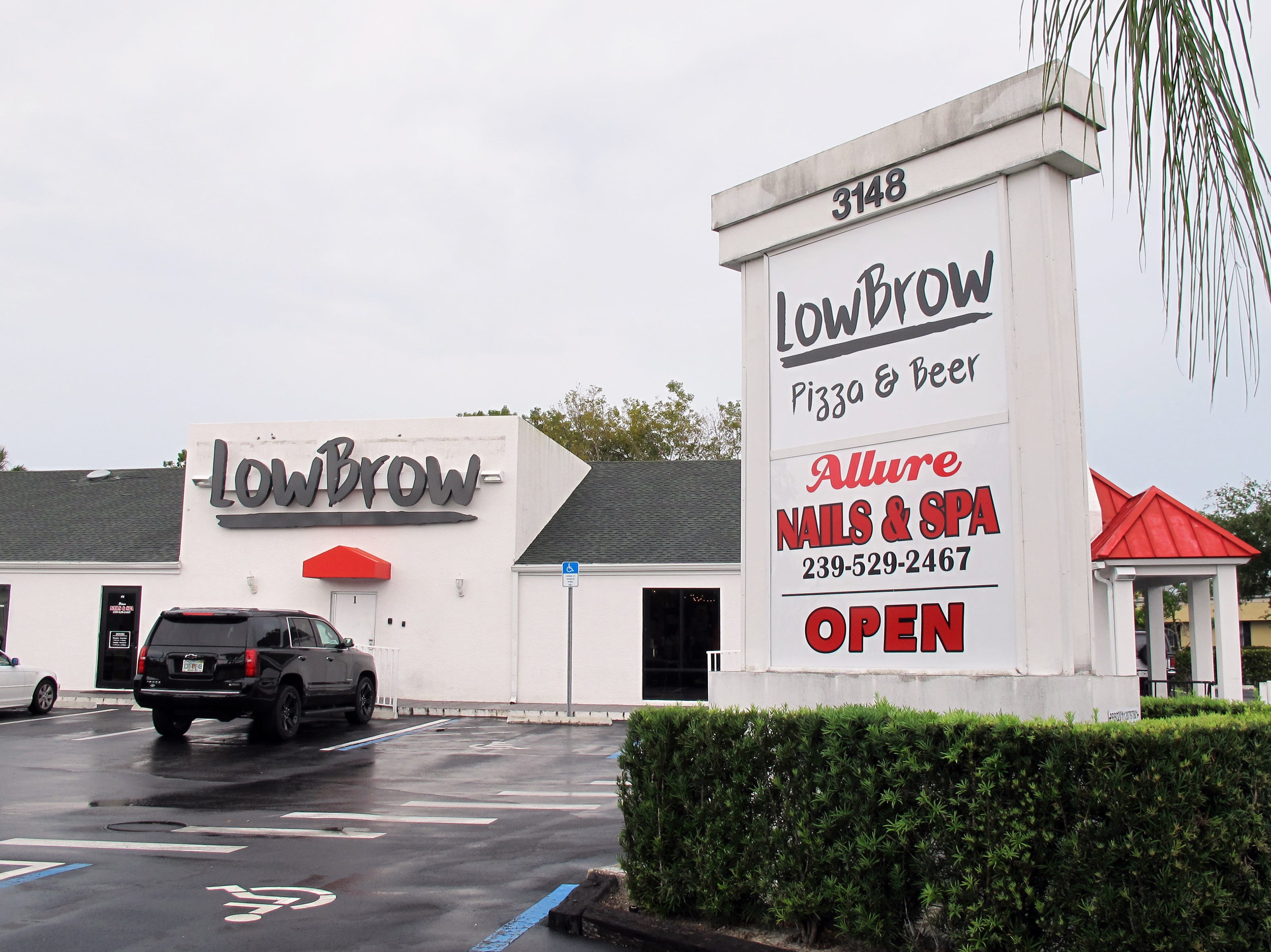 LowBrow launched April 20, 2018, in the former Five Guys space on U.S. 41 East between Bayshore Drive and the Collier County Government Center in East Naples.