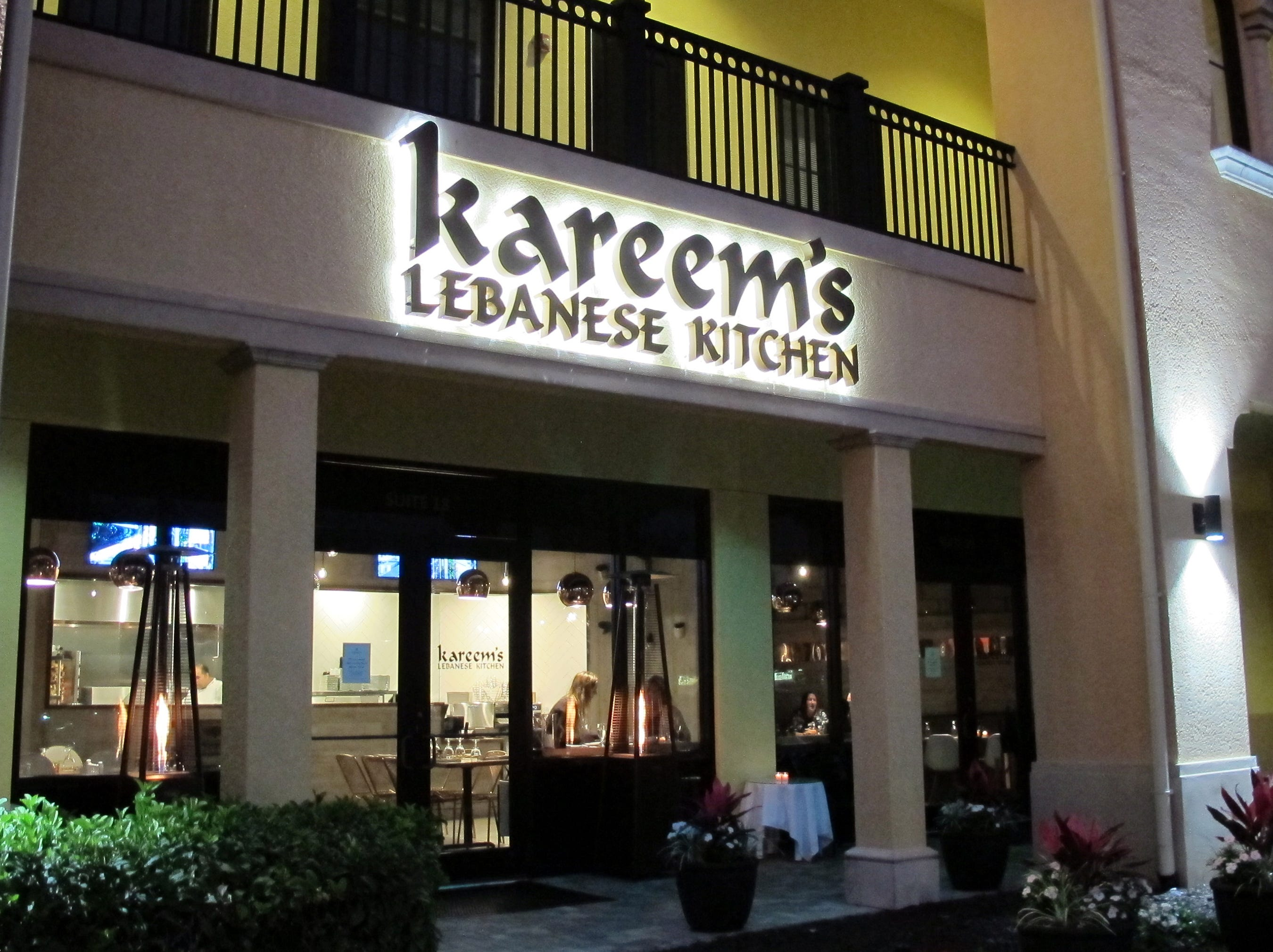 Kareem's Lebanese Kitchen launched in February 2018 next to 21 Spices in Sugden Park Plaza off U.S. 41 East in East Naples.