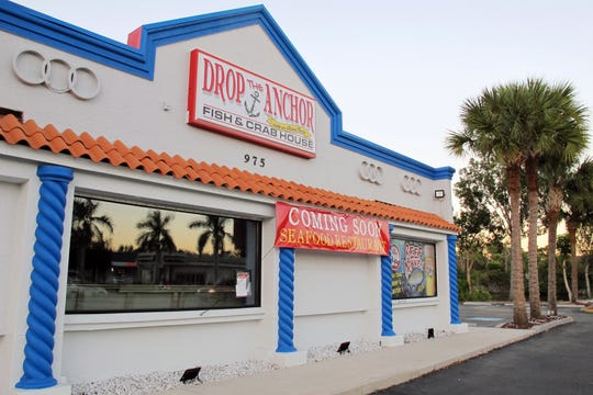 Drop the Anchor, a fish and crab house with an Asian twist, opened Dec. 19, 2018, in the former North Naples locations of NeNe's Kitchen and Loving Hut on Pine Ridge Road.