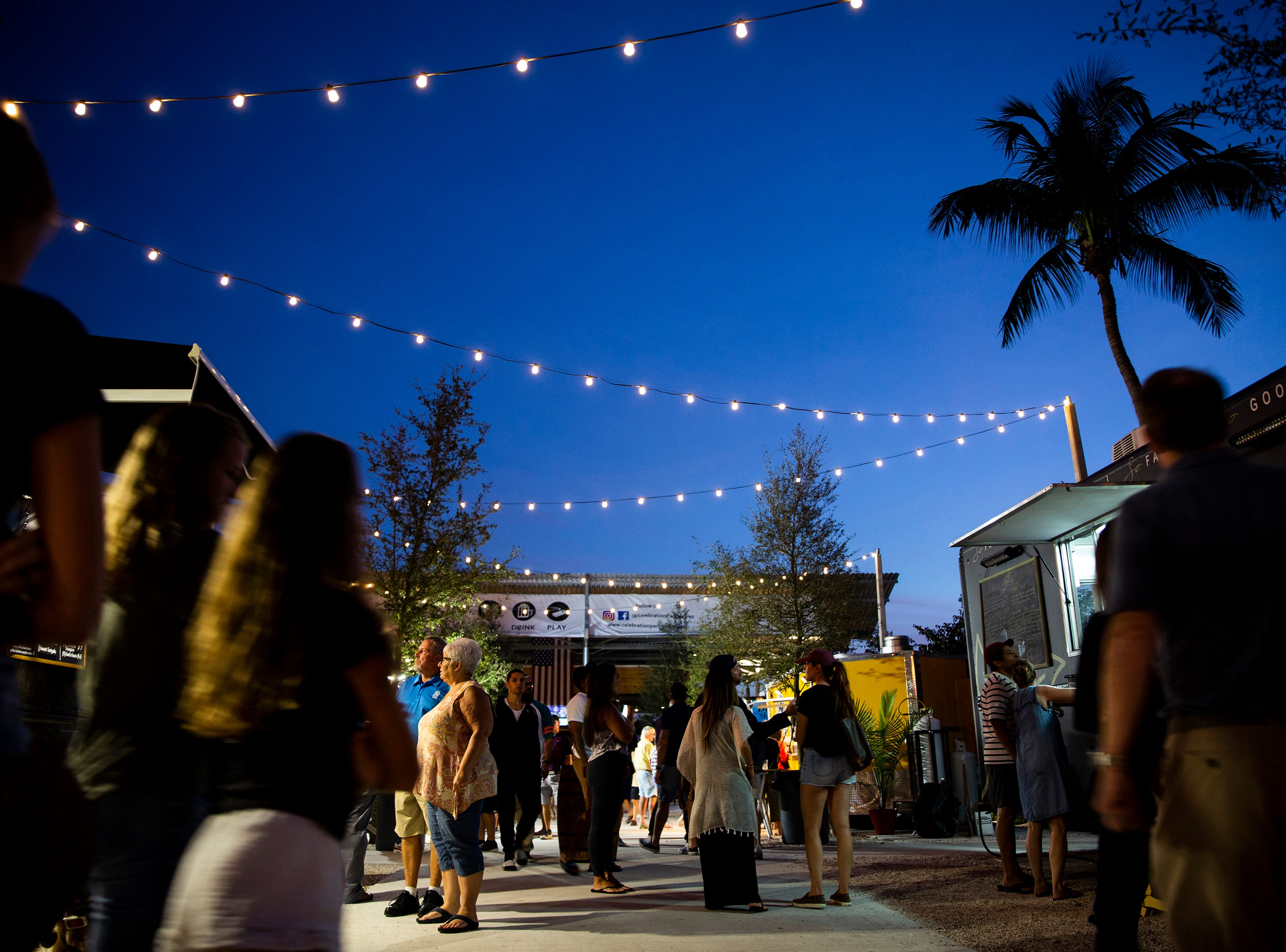 The long-awaited Celebration Park opened in November 2018 with eight food trucks, a full bar and more off Bayshore Drive in East Naples.