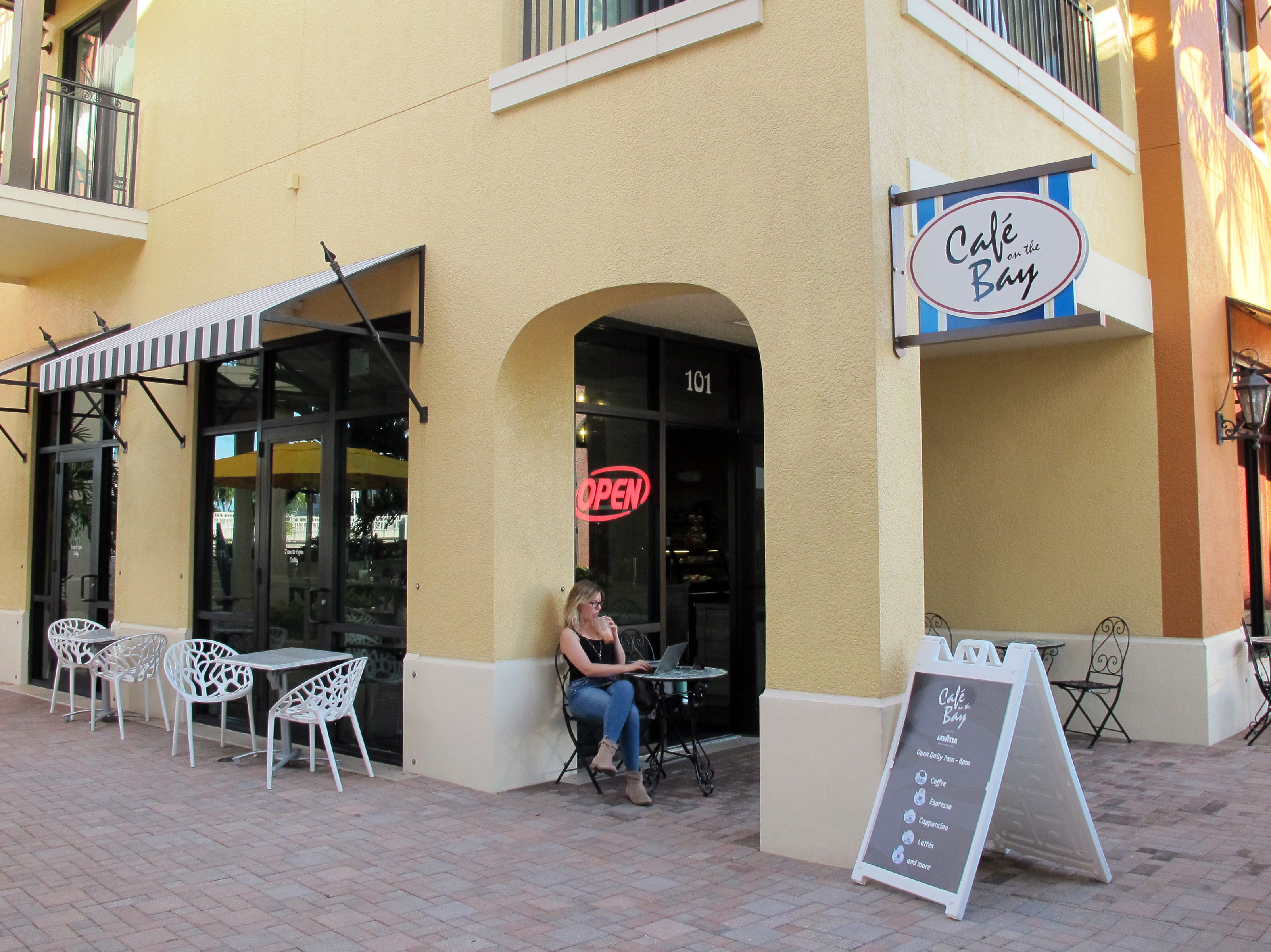 Cafe on the Bay coffee shop and eatery opened in September 2018, replacing Catalina Café at Naples Bay Resort & Marina, 1500 Fifth Ave. S.