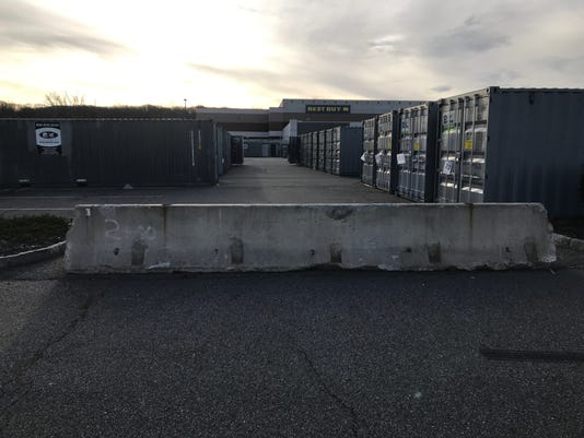 riverdale walmart will remove shipping containers from parking lot