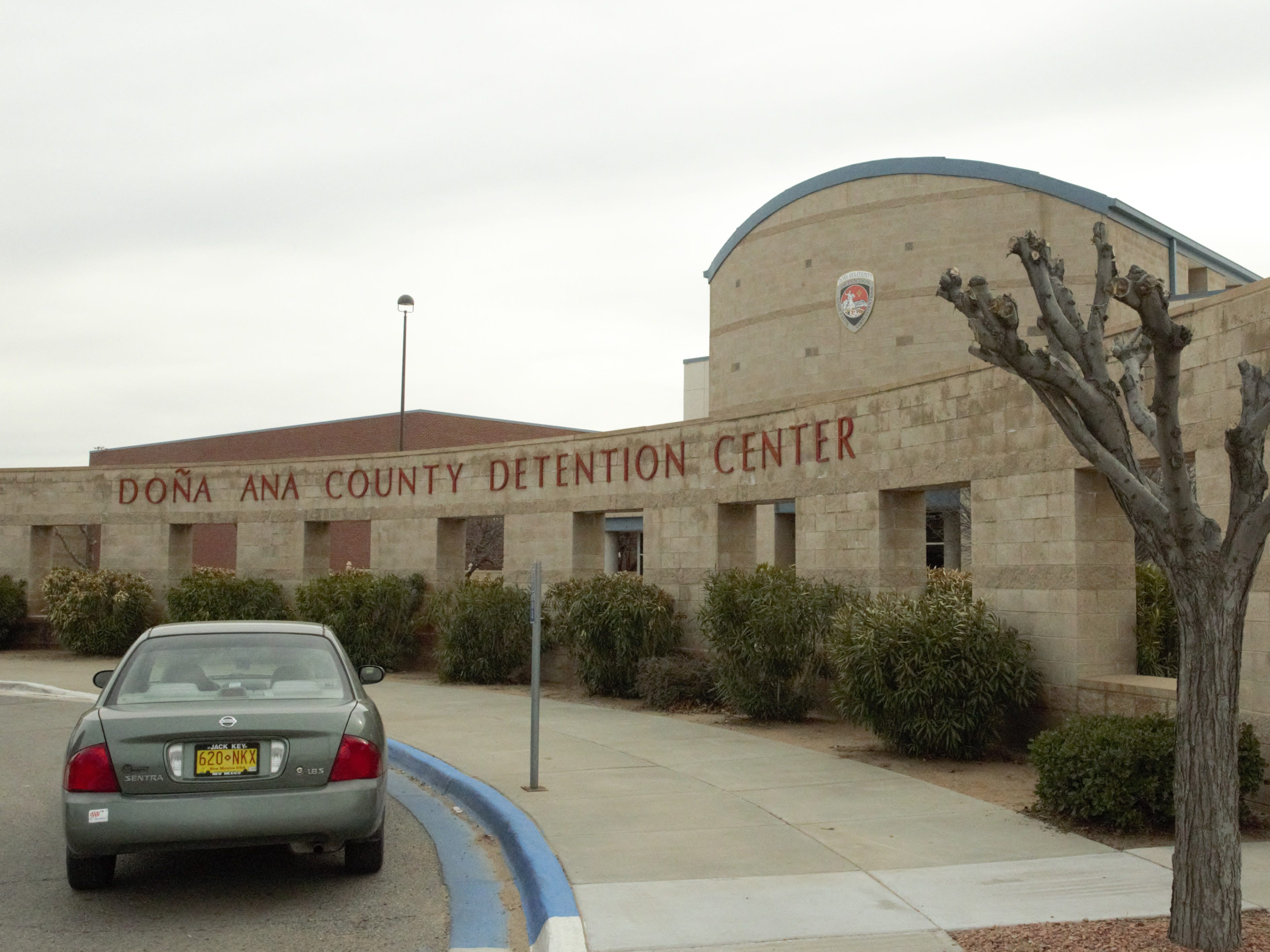 The Doña Ana County Detention Center stands at 1850 Copper Loop in Las Cruces on Tuesday, Dec. 25, 2018.