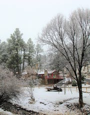 Old fashioned holidays take shape during the winter months in Ruidoso.