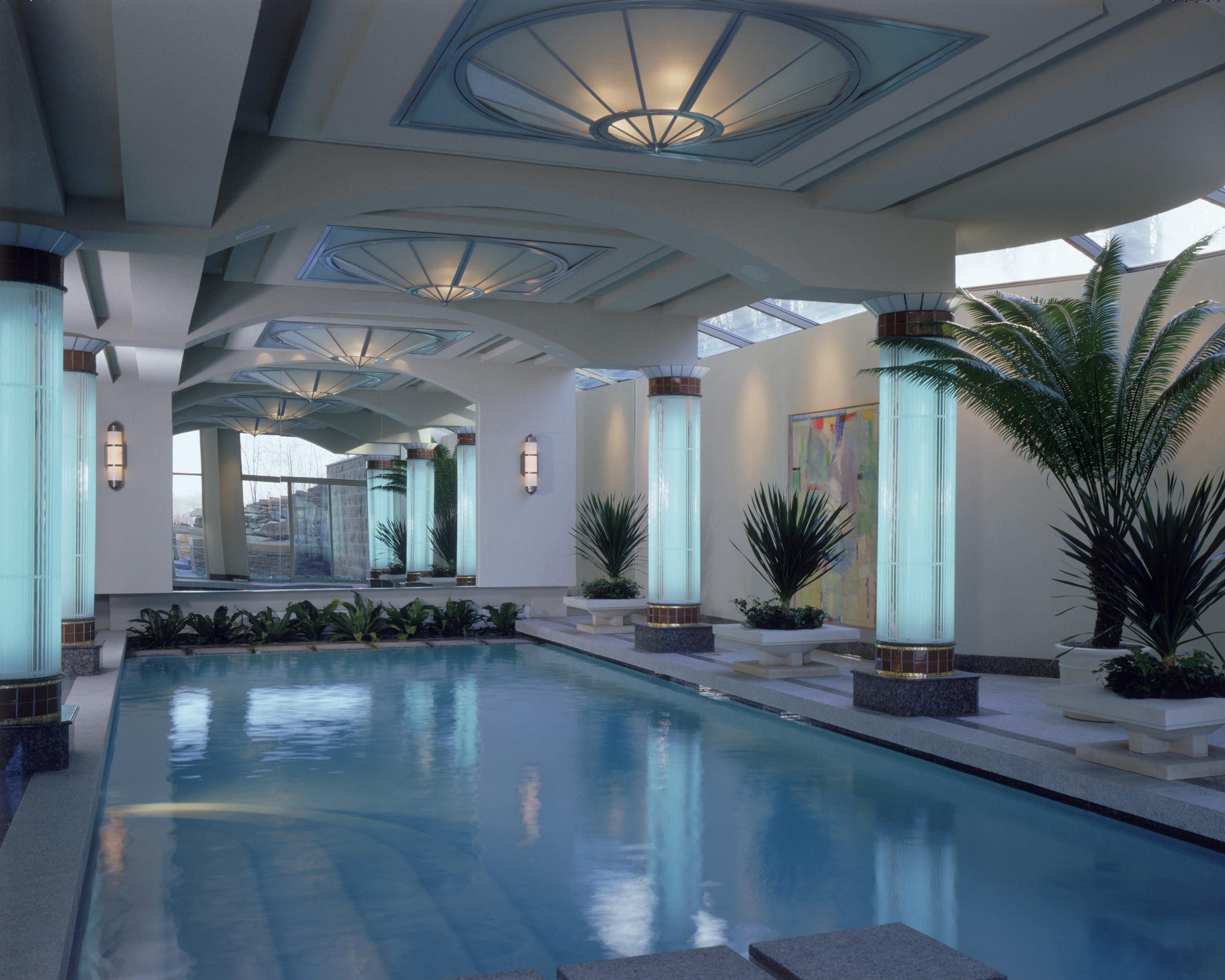 HGTV spotlights Indoor pool designed by DesRosiers Architects