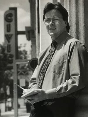 One of the highlights of Tim Smith's career with the Observer & Eccentric was being named 1998 Journalist of the Year, awarded during his time as a reporter in Farmington. A portraits gallery of JOY winners was on view inside the front lobby at the company's former headquarters on Levan Road in Livonia.