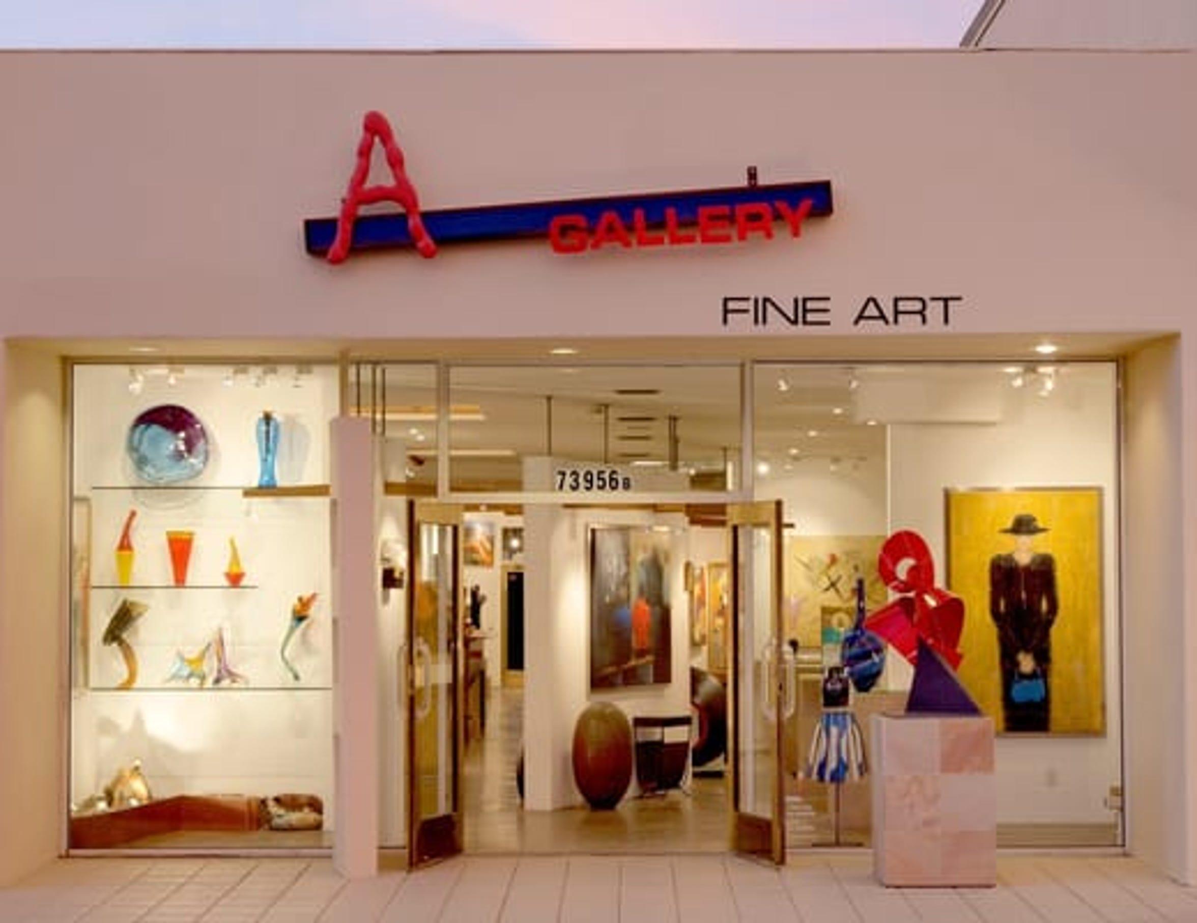 A Gallery Fine Art.