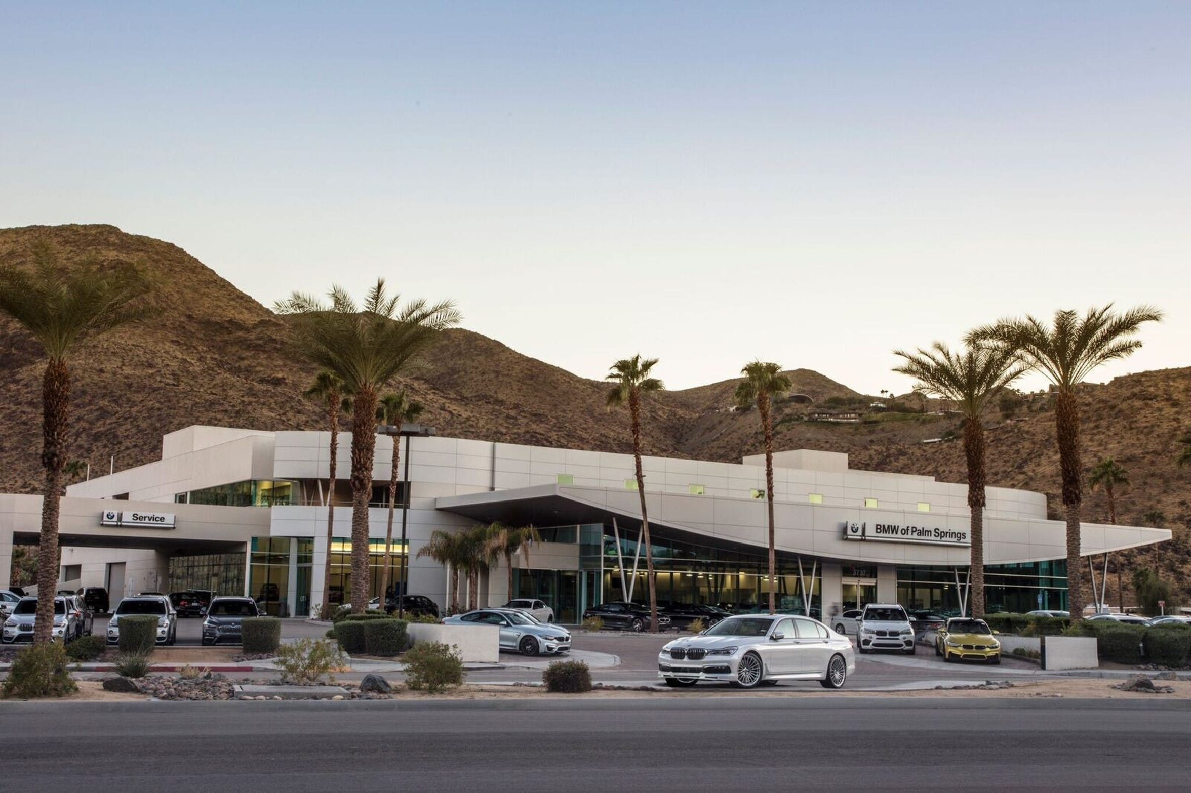 BMW of Palm Springs.