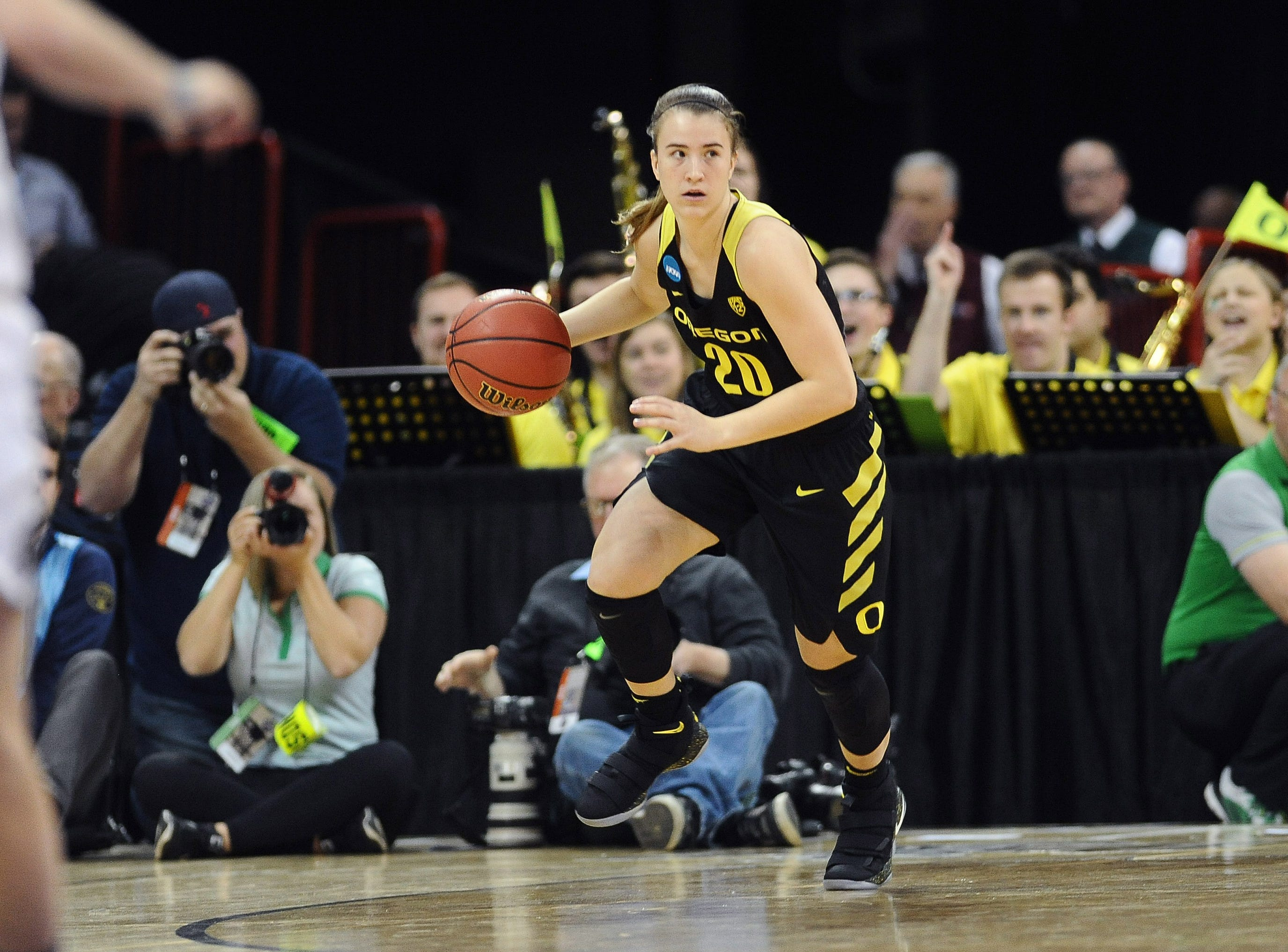 Oregon guard Sabrina Ionescu, with 13 career triple-doubles, could be the No. 1 pick in the 2019 WNBA draft if she turns pro after her junior season.