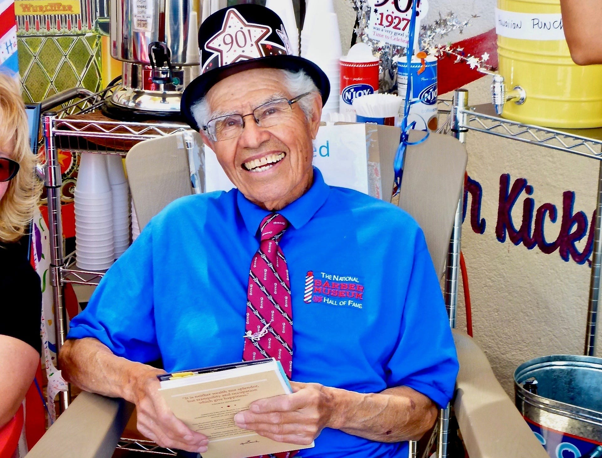 Credited with beginning the preservation movement for Route 66, Seligman's Angel Delgadillo celebrated his 90th birthday in 2017.