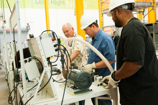 In response to industry needs, EMCC is involved in training students for future in skilled trade jobs.