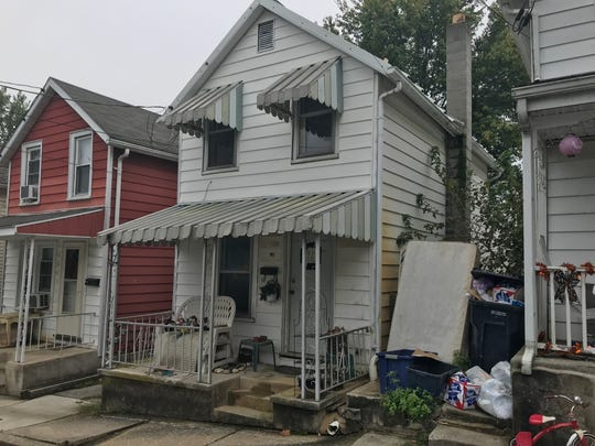 A condemned property located at at 820 S. Sixth St., Lebanon, Oct. 16, 2018. The property was condemned in 2014 after its furnace malfunctioned and the water pipes froze and broke.