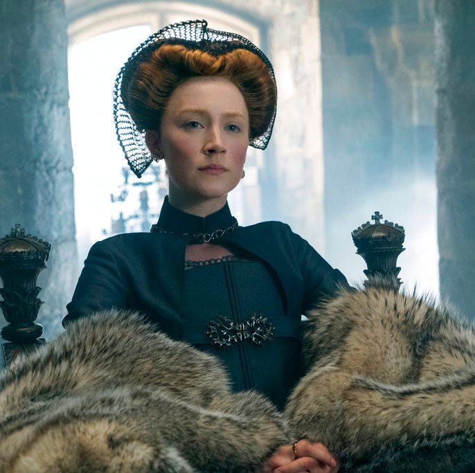 Film puts a modern spin on 'Mary, Queen of Scots'