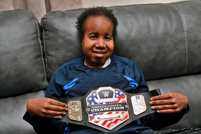 Giovann Green and his family will be traveling to Baltimore to meet his favorite WWE wrestler, John Cena, Friday. Green, 25, is battling brain cancer for the second time and Heartland Hospice set up the meeting for the Spring Garden man. Thursday, December 26, 2018.John A. Pavoncello photo