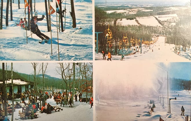 Early in 1964, Irvin Naylor purchased the highest mountain in York County from Mrs. Ethel Barrett, which would later become Ski Roundtop.