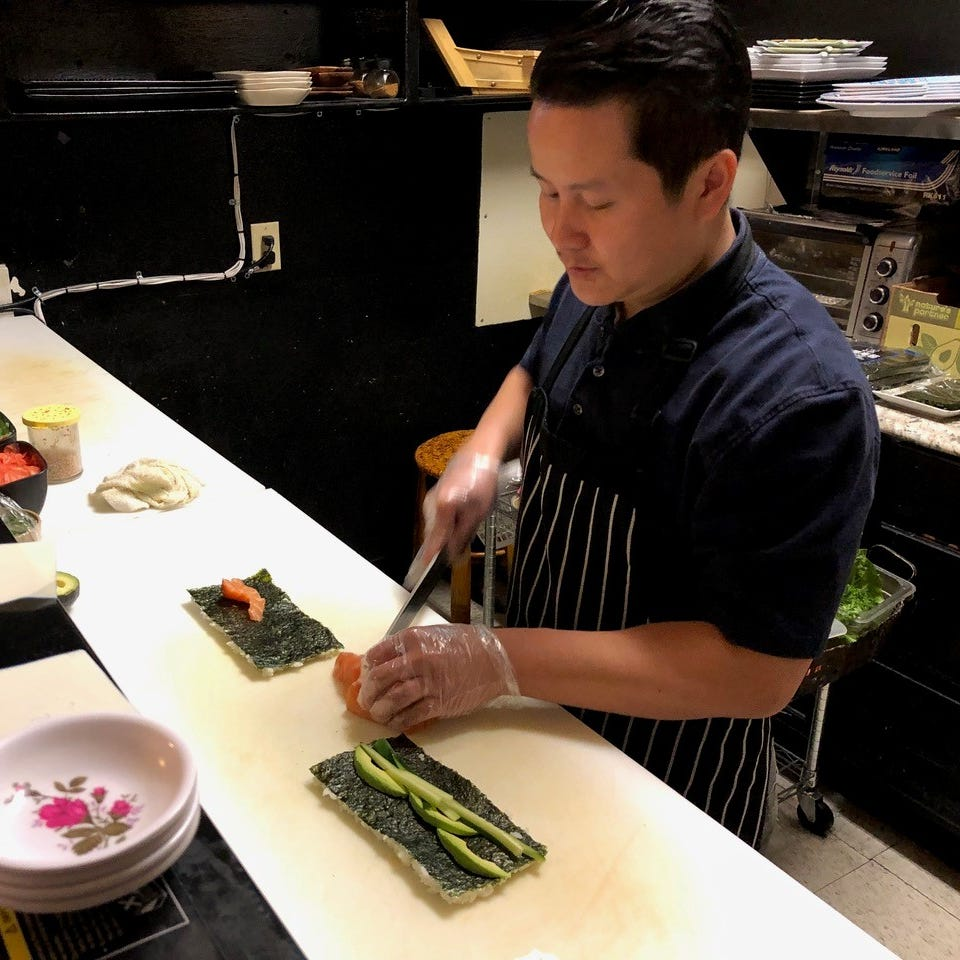 Dining Out: Longtime Redding resident makes more than sushi at Bonsai Sushi Fusion