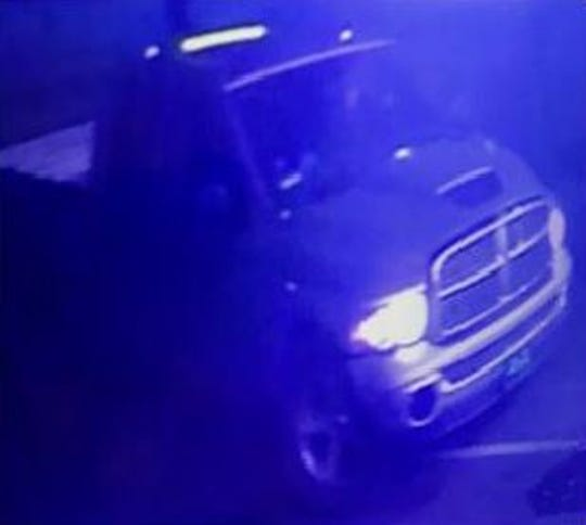 CHP issued a Blue Alert as authorities search for a man suspected in the fatal shooting of a Newman police officer. This is an image of the suspected shooter's vehicle.