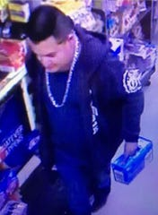 CHP issued a Blue Alert as authorities search for this man suspected in the fatal shooting of a Newman police officer.