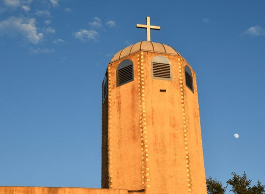 The tower of St. Joseph Church, 301 W. 17th St., has been a landmark in North San Angelo since it was built in 1956.