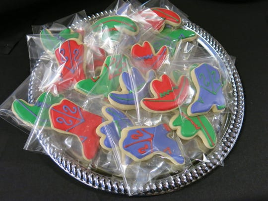 "Cookies served at ""Holiday Hoedown."""