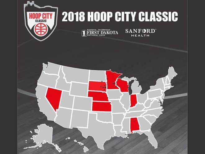 Hoop City Classic program cover