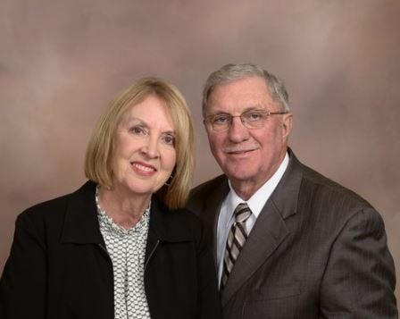 JoAnn (left) and Vaughn Meyer were killed in a plane crash in Sioux Falls on Christmas Day 2018. The Meyers were known as philanthropists who donated frequently to causes around Sioux Falls.