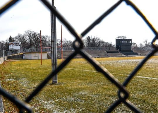 Clark Field near Technical High School shown Wednesday, Dec. 26, in St. Cloud.