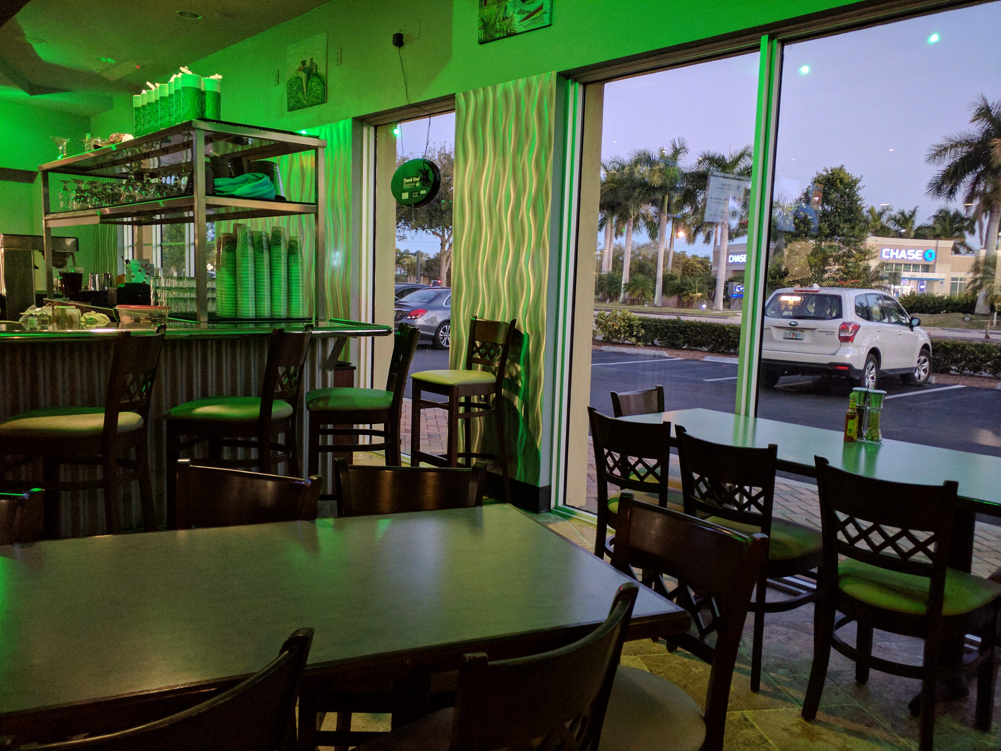 Chive's indoor seating at 390 21st Street in Vero Beach.