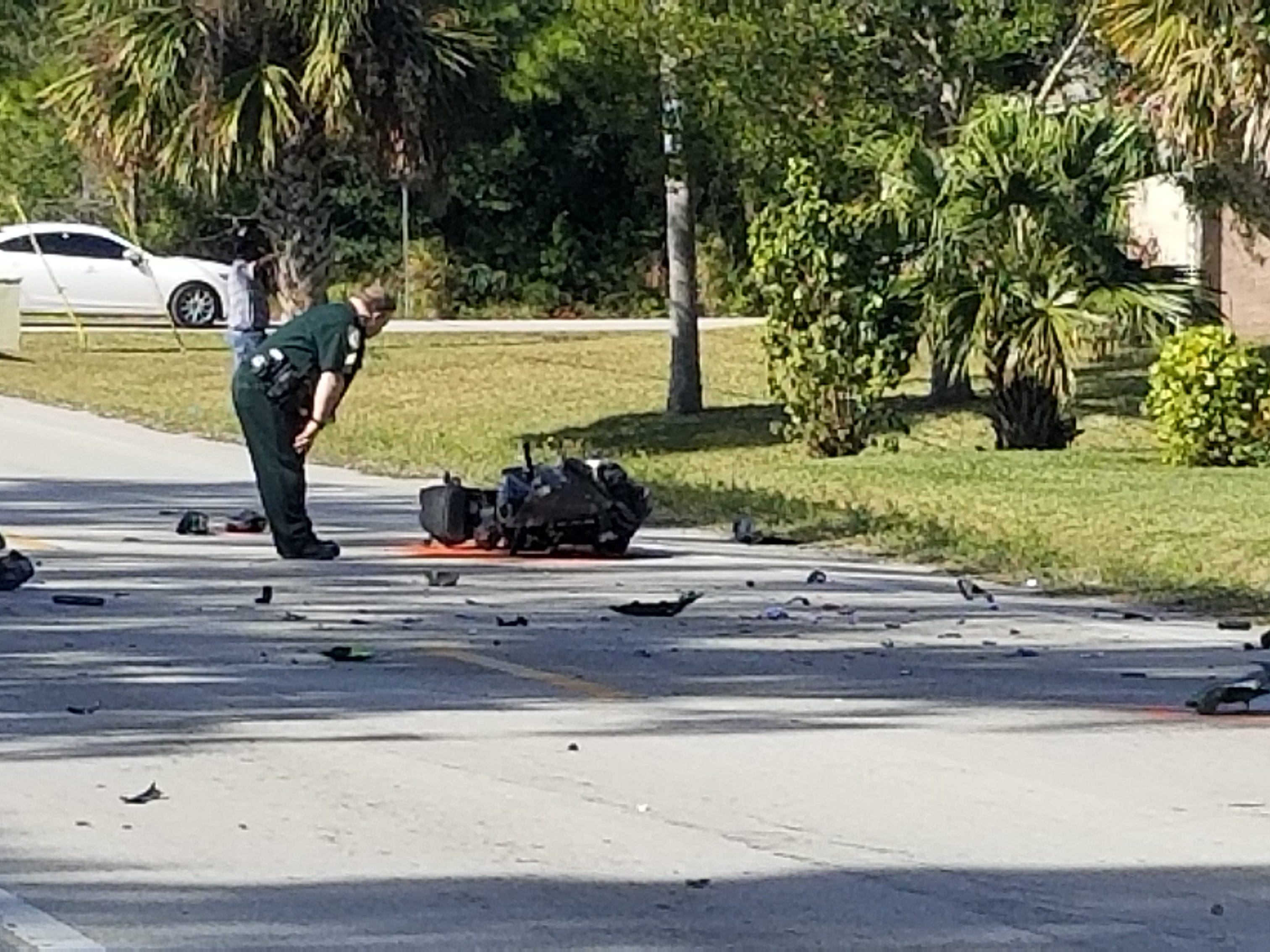 Motorcyclist injured in crash on 45th Street near 48th Avenue Dec. 26, 2018.