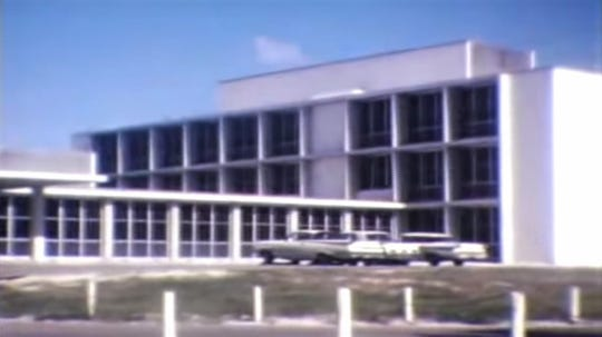 New additIon to Martin Memorial Hospital in 1964.