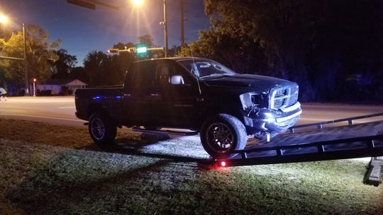 Crash reported at 27th Avenue and 12th Street in Vero Beach Dec. 26, 2018.