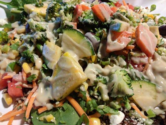 Adj Chive Quinoa Bowl Maribeth