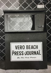 Press Journal newspaper boxes were prevalent in the Indian River county area.