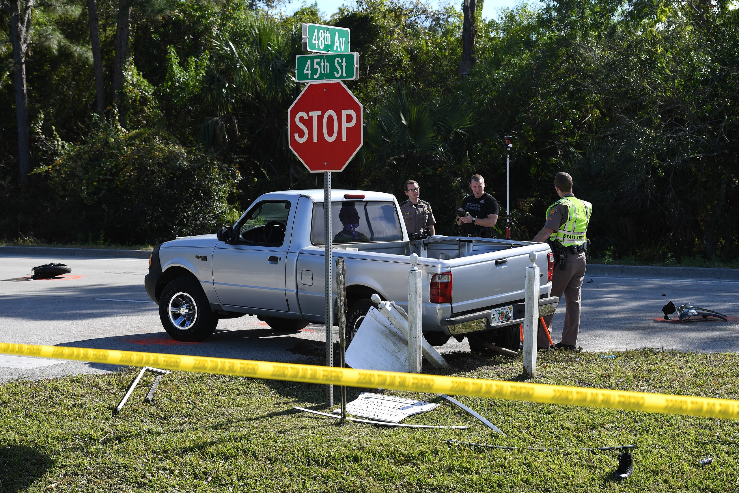 Motorcyclist killed in 45th Street crash in Indian River County