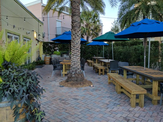 Chive's outdoor seating at 390 21st Street in Vero Beach.