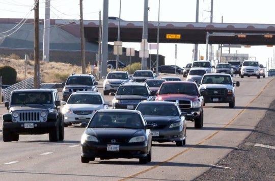 Traffic travels west on Montana Avenue near Joe Battle Boulevard.